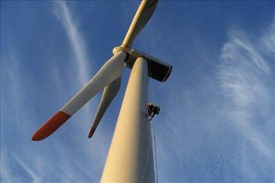 Rüzgar Türbini Bakımı